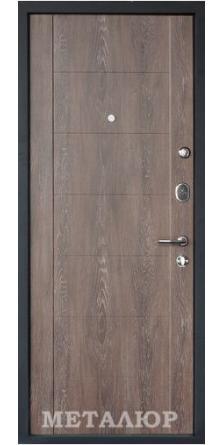 Металлическая дверь М28 (Дуб шале снежный)