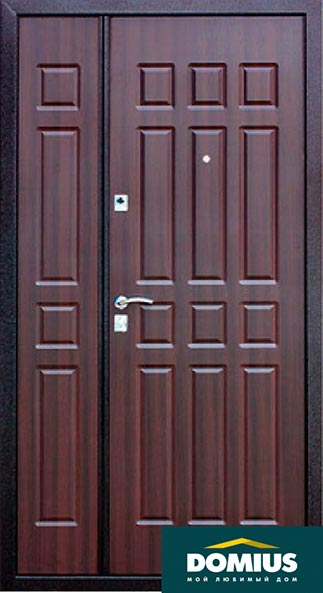 входные двери 2 створчатые